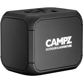 CAMPZ Universal Rejseadapter, sort